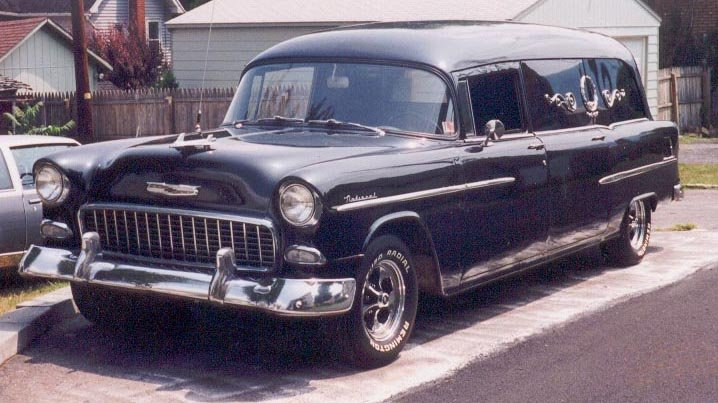 1955 Chevy-National service car