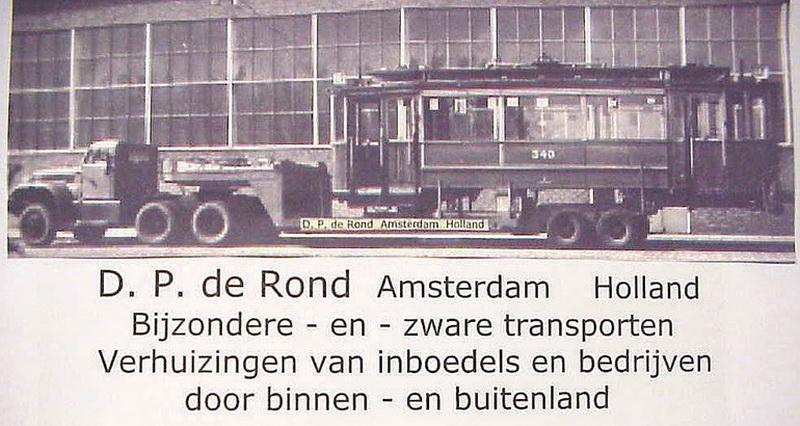 1955 Diamond D P de Rond bijz en zware transporten