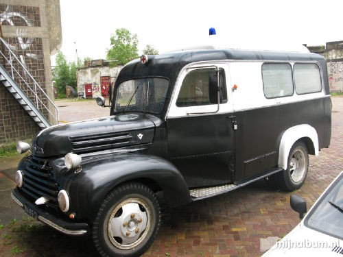 1955 Ford TRK Ambulance a
