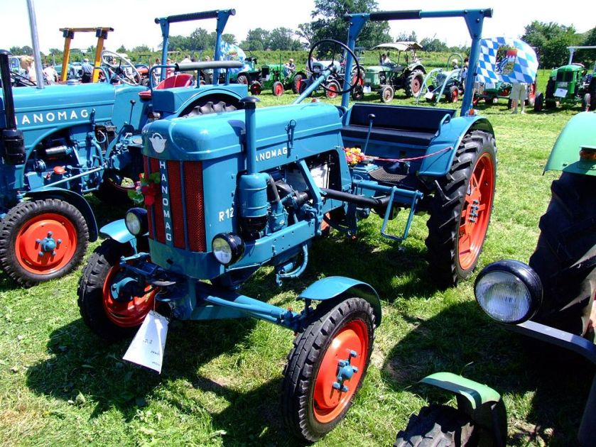1955 Hanomag R 12 A