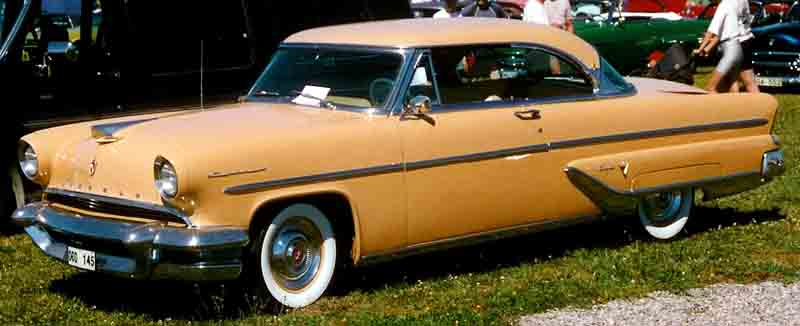 1955 Lincoln Capri 2 Door Hardtop