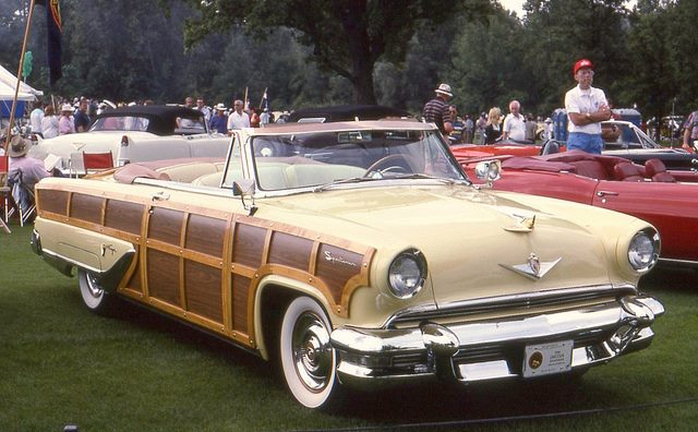 1955 Lincoln Capri Sportsman