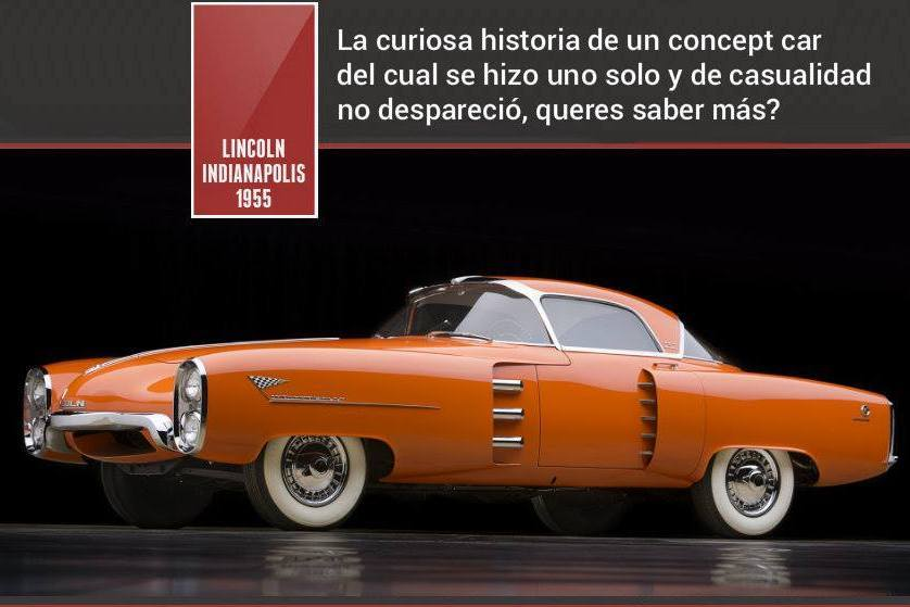 1955 Lincoln Indianapolis a