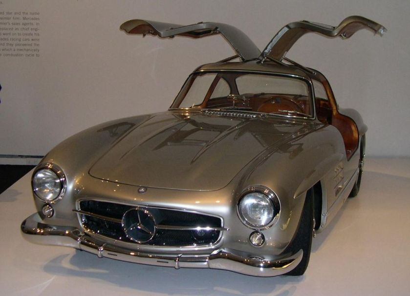 1955 Mercedes-Benz 300SL Gullwing Coupé from the Ralph Lauren collection