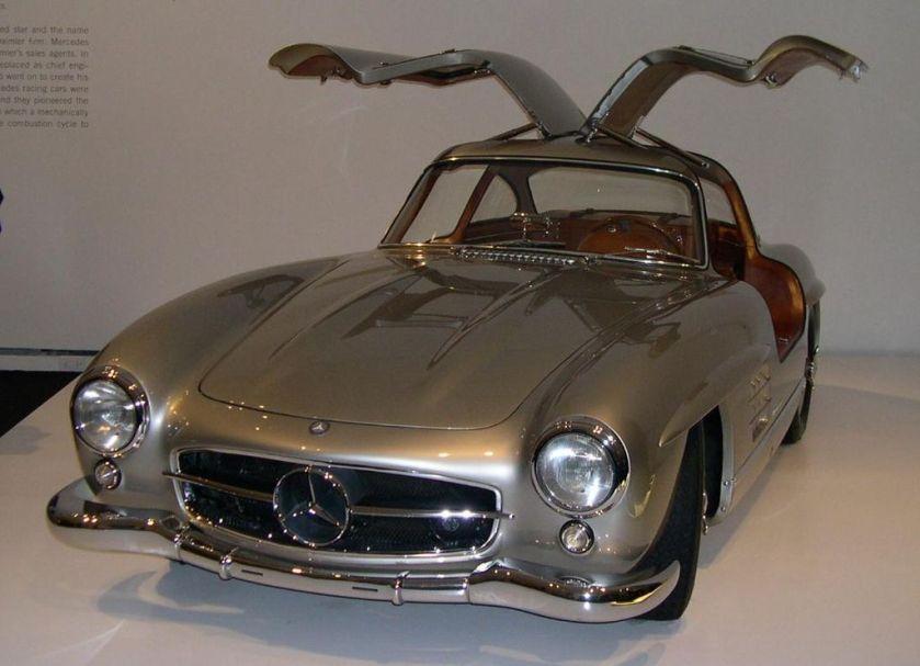 1955 Mercedes-Benz 300SL Gullwing Coupé from the Ralph Lauren collection