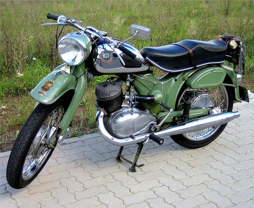 1955 NSU Superlux 250 c.c. TS SINGLE