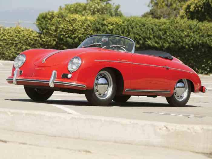 1955 Porsche 356 Pre A Speedstar 1500 cc