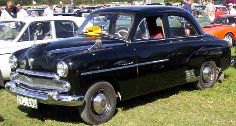 1955 Vauxhall Velox 4-Door Saloon