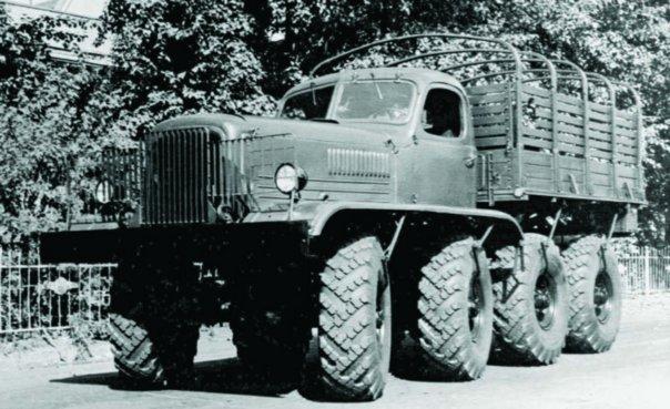 1955 ZIS-E134, 8x8