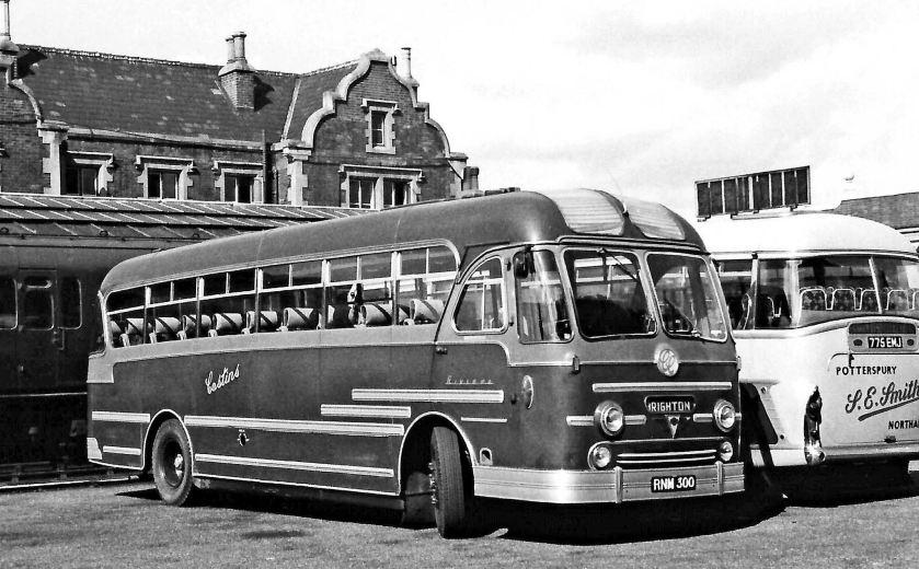 1956 AEC Reliance MU3RV Yeates Riviera C41C  RNM300