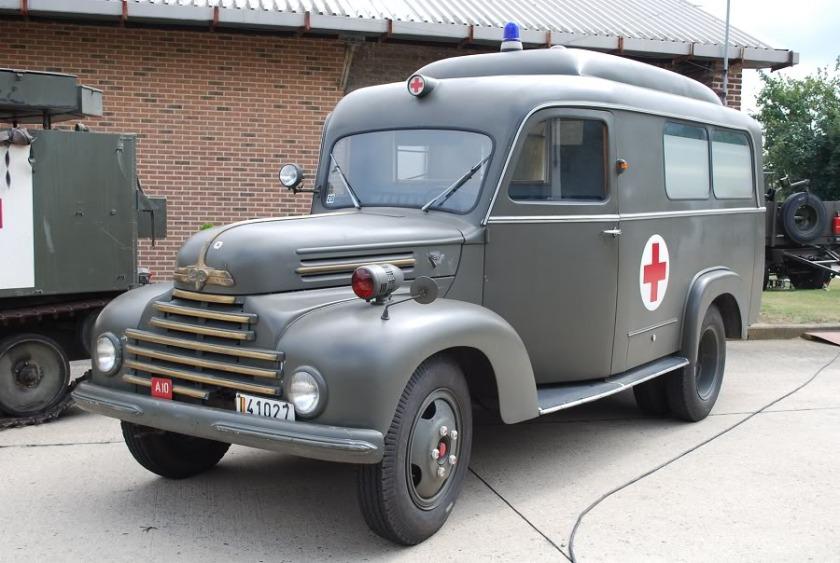 1956 ambulance Ford F3 Rhein B