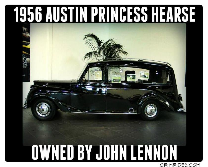 1956 Austin Princess Hearse & also a kustom 1965 Rolls Royce Phantom V Limo