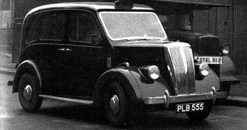 1956 Beardmore mark VII Taxi