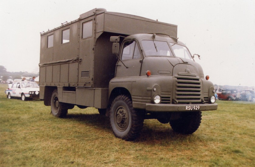 1956 Bedford RL 3Ton 4x4 Office (RSU 929)