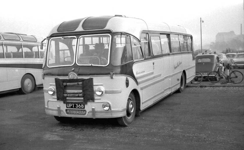 1956 Bedford SBG with a Yeates Riviera C41F body