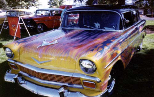 1956 Chevrolet 210 Hearse