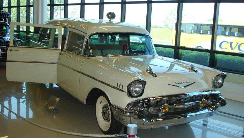 1956 Chevrolet Old wit beauty