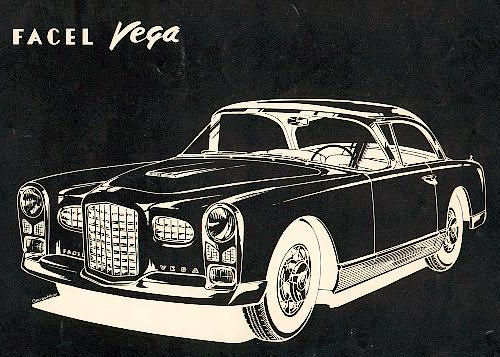 1956 facel vega coupe