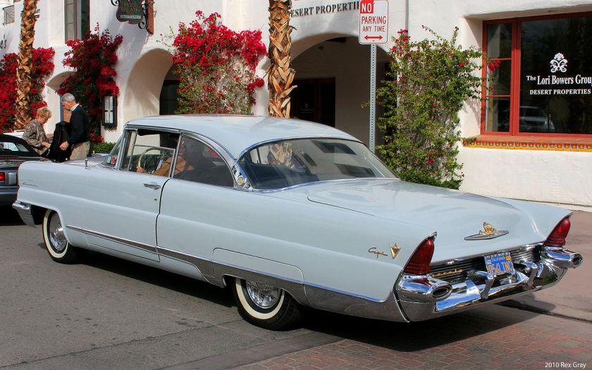 1956 Lincoln Capri coupe rear