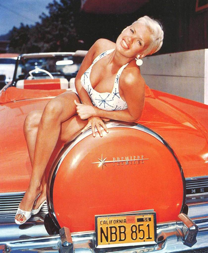 1956 Lincoln Premiere with Jayne Mansfield