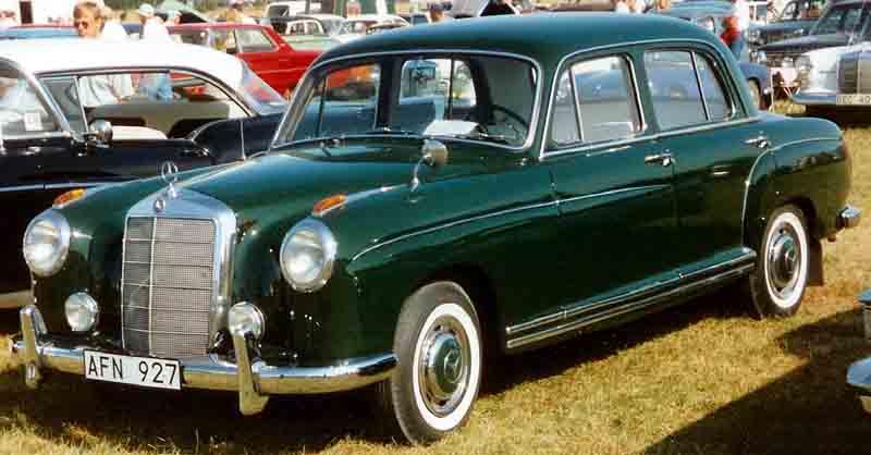 1956 Mercedes-Benz 220 Limousine