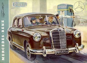 1956 mercedes benz p180d