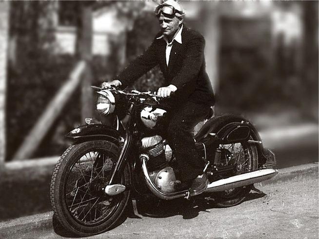 1956 NSU Max Toni Spurzem