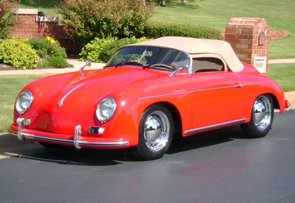 1956 Porsche 356 Californië