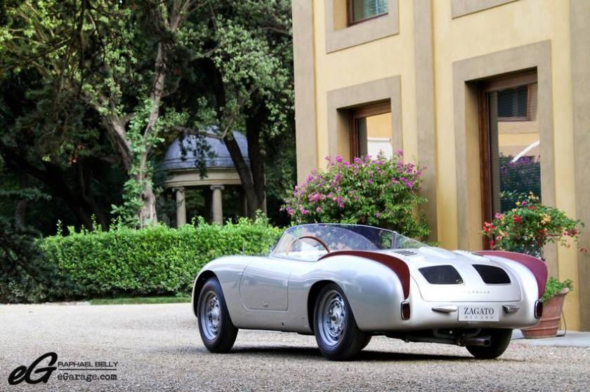 1956 Porsche 356 Zagato speedster