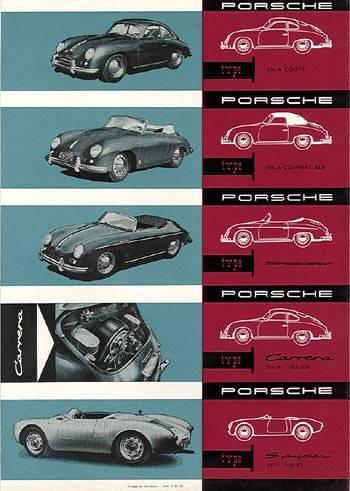 1956 porsche 356a-all 1956