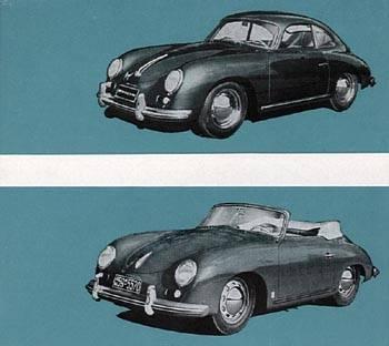 1956 porsche 356a-coupe
