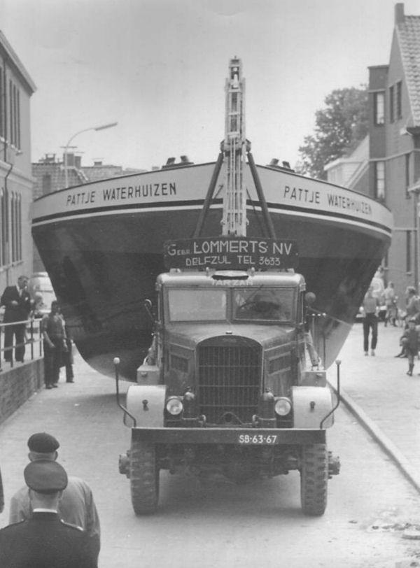 1956 REO C-2 29XS 7½ tons kraan