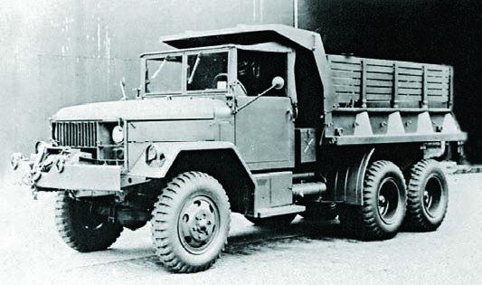 1956 REO М342, 6x6