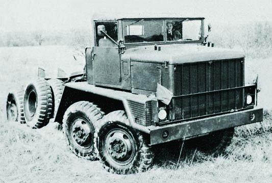 1956 REO ХМ375, 8x8