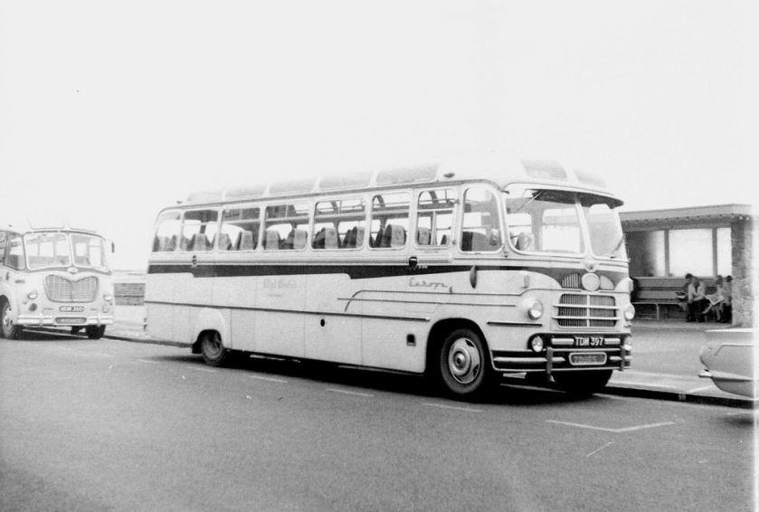 1956 TDM 397 - Bedford SB3   Yeates Europa C41F