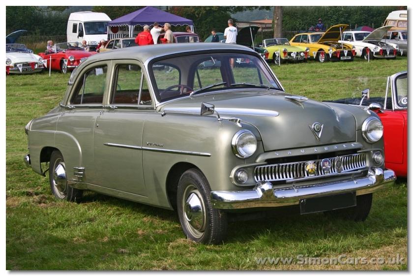 Vauxhall Wyvern EIX 1956