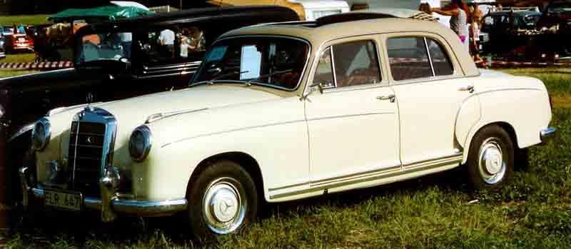 1956 W128 Ponton, a 220SE