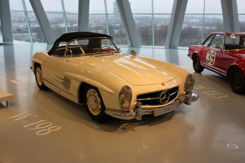 1957-63 Mercedes-Benz SL W198 Roadster