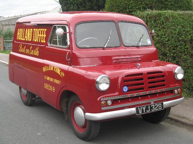 1957 Bedford CA Van