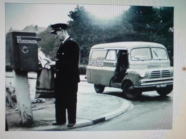 1957 Bedford CALV PTT