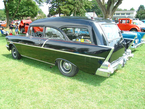 1957 Chevy belair hearse