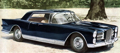 1957 facel excellence
