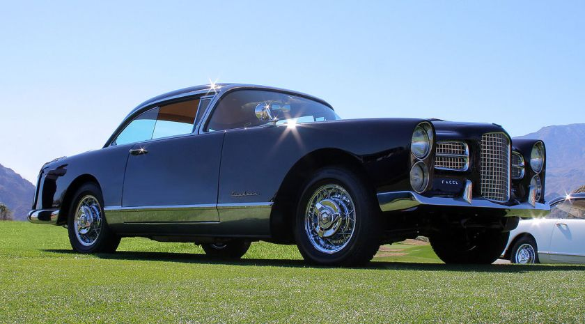1957 Facel Vega FV4 Typhoon at the 2011 Desert Classic, La Quinta, CA