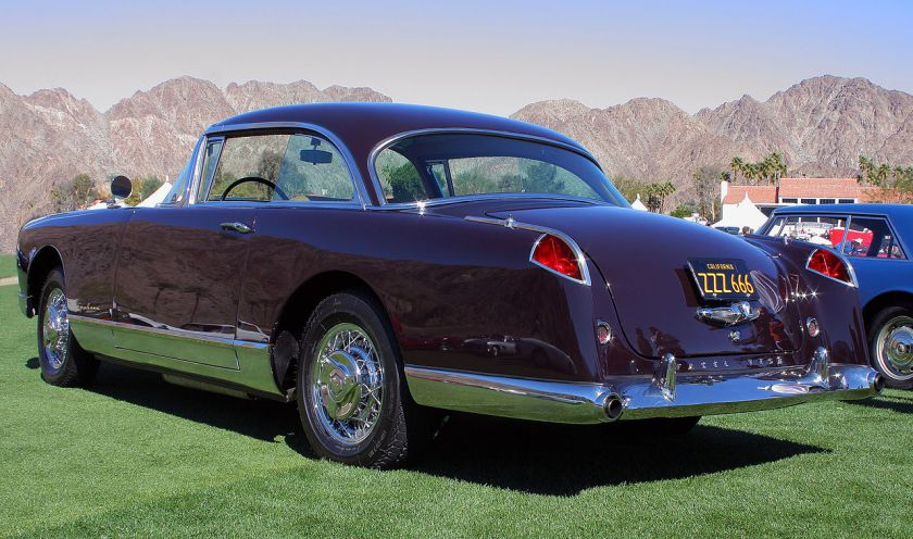 1957 Facel Vega FV4 'Typhoon' at the 2011 Desert Classic, La Quinta, CA