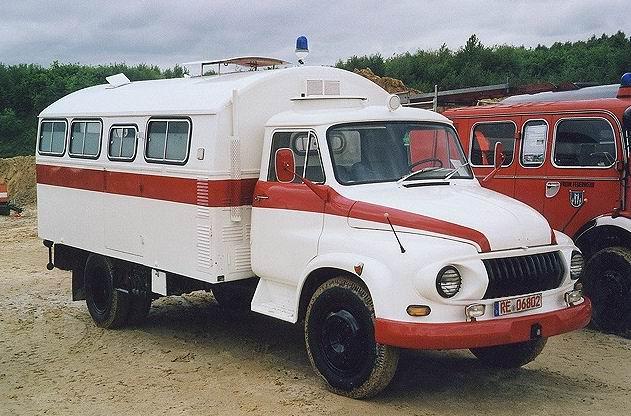 1957 Ford FK 3500 Einheitskoffer-Lkw