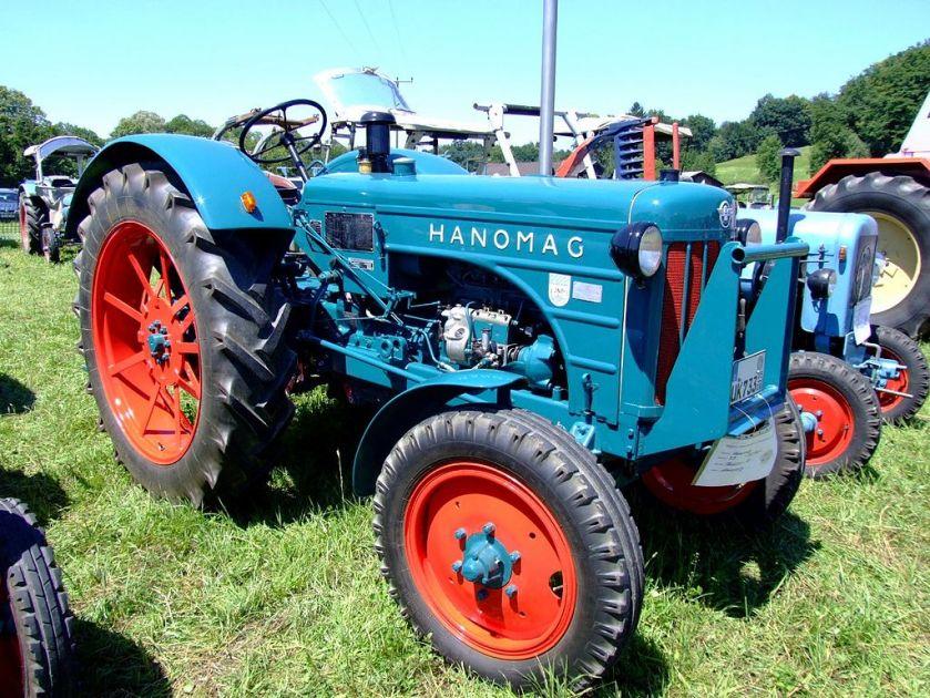 1957 Hanomag R 35 A