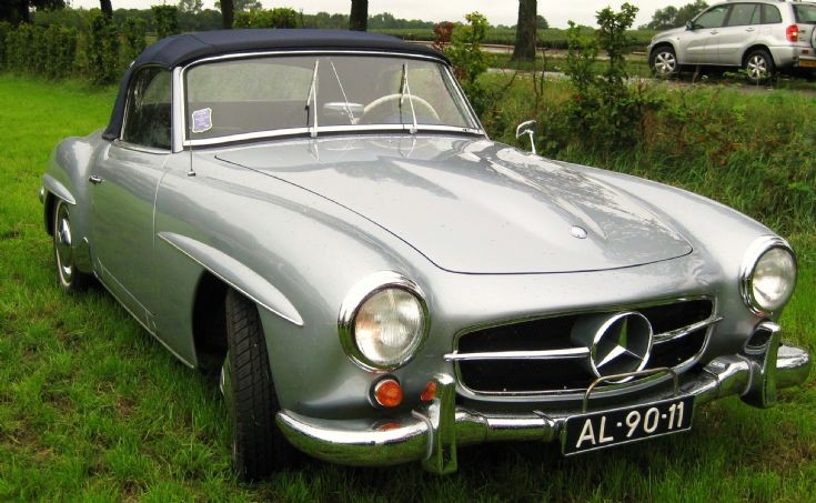 1957 Mercedes - Benz 190 SL