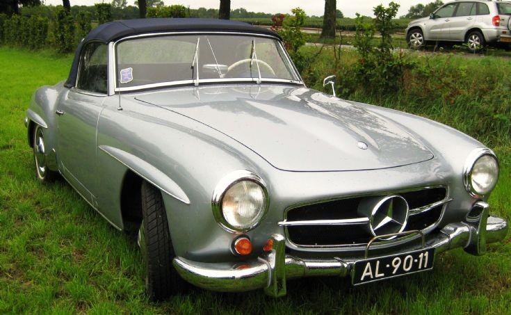 1957 Mercedes - Benz 190 SL