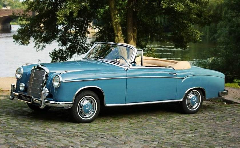 1957 Mercedes-Benz 220 S Ponton