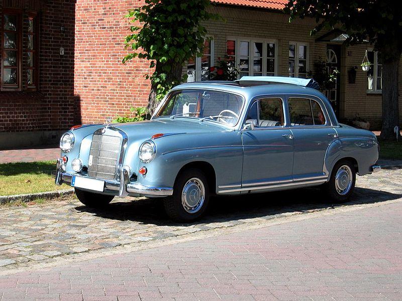 1957 Mercedes-Benz W128